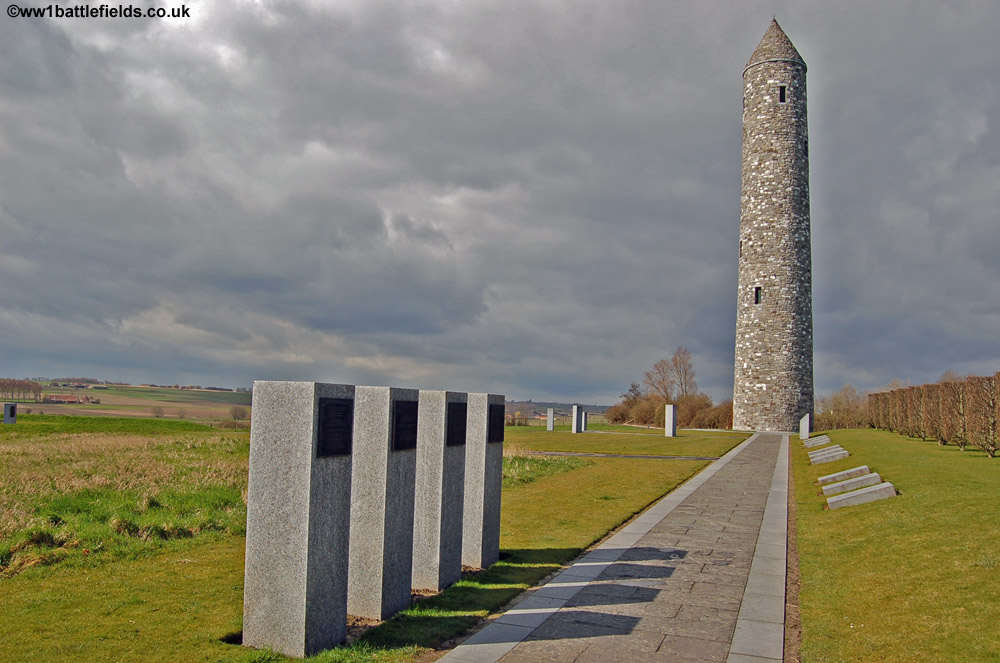 Island Of Ireland Peace Park At Messines